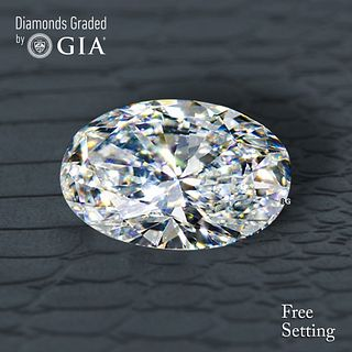 3.01 ct, I/VS1, Oval cut GIA Graded Diamond. Appraised Value: $79,000