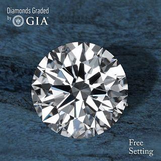 2.01 ct, E/VVS2, Round cut GIA Graded Diamond. Appraised Value: $82,600
