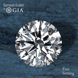 2.01 ct, E/VVS1, Round cut GIA Graded Diamond. Appraised Value: $98,400