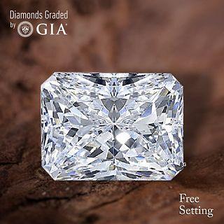 4.01 ct, D/VS2, Radiant cut GIA Graded Diamond. Appraised Value: $268,600