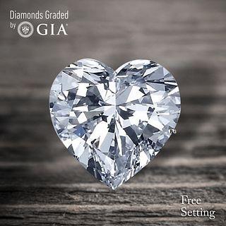 4.52 ct, D/VS1, Heart cut GIA Graded Diamond. Appraised Value: $334,400