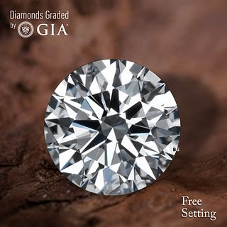 1.50 ct, F/VVS2, Round cut GIA Graded Diamond. Appraised Value: $39,400
