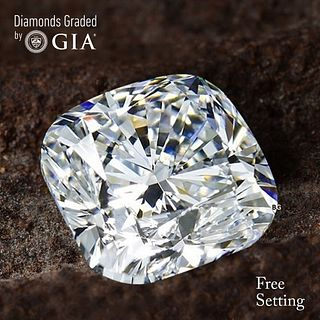 5.01 ct, F/VS1, Cushion cut GIA Graded Diamond. Appraised Value: $512,800