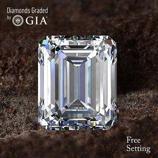 10.16 ct, D/FL, TYPE IIa Emerald cut GIA Graded Diamond. Appraised Value: $4,358,600