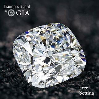 3.06 ct, I/VS2, Cushion cut GIA Graded Diamond. Appraised Value: $72,200