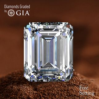 1.70 ct, F/IF, Emerald cut GIA Graded Diamond. Appraised Value: $37,500
