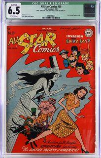 DC Comics All Star Comics #39 CGC 6.5