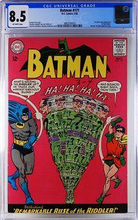 DC Comics Batman #171 CGC 8.5