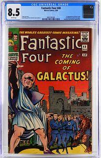 Marvel Comics Fantastic Four #48 CGC 8.5