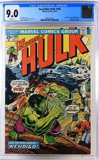 Marvel Comics Incredible Hulk #180 CGC 9.0