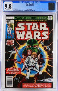 Marvel Comics Star Wars #1 CGC 9.8