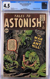 Marvel Comics Tales to Astonish #27 CGC 4.5