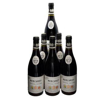 ....lote de 6 vinos Mercurey , Micherl Picard