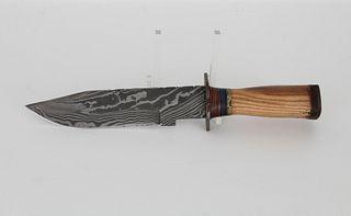 Louis Martin Damascus Knife