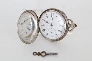"Patent Lever ""Sandoz"" Pocket Watch"