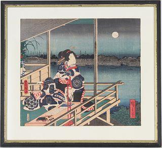 Japanese Color Woodblock Print