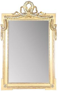 Early European Carved Gilt Mirror