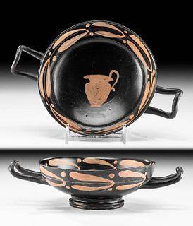 Beautiful Xenon Pottery Kylix, ex-Arte Primitivo