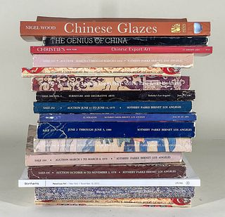 Assorted Books and Auction Catalogues includ. Chinese Works of Art