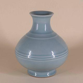 Clair de Lune Porcelain Vase w/ YongZheng Mark