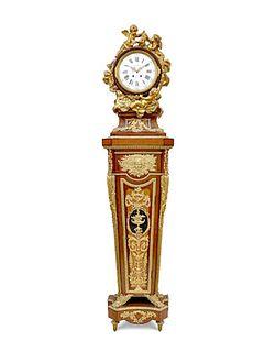 A Louis XVI Style Regulateur De Parquet By Garnier