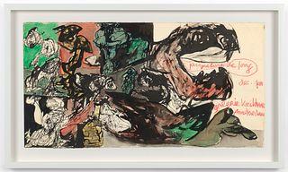 """Jacqueline de Jong , """"Untitled"""", 1966"""