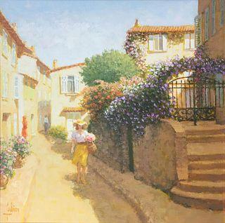Louis Fabien - Ruelle Fleurie (St Tropez)