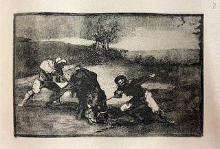 Francisco Goya (after)  - La Tauromaquia 2