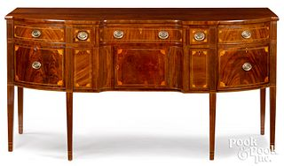 Baltimore Federal mahogany sideboard, ca. 1795