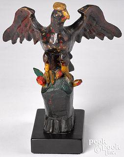 Wilhelm Schimmel spread winged eagle