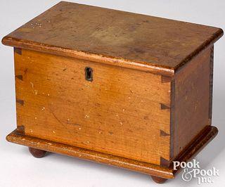 Miniature Pennsylvania poplar blanket chest