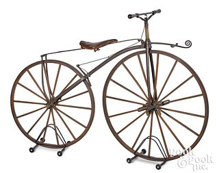New York bone shaker bicycle, Wood Brothers