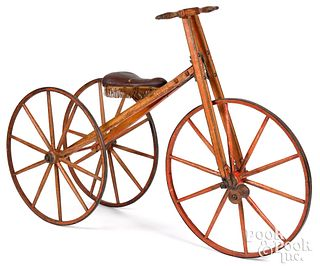 Victorian painted tricycle