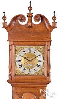 Philadelphia, Pa. Chippendale tall case clock