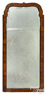Queen Anne mahogany looking glass, ca. 1760