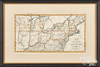 Abraham Bradley Jr. map