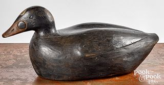 Carved and painted duck decoy, ca. 1900