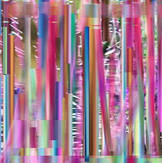 Mary Ann Strandell, Bamboo Hybrid Pink I