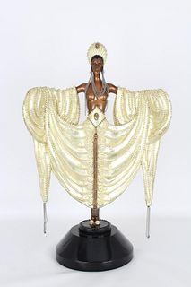 """ERTE """"Radiance"""" Bronze Sculpture"""