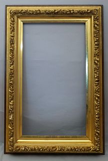 Exceptional American Giltwood Salon Frame