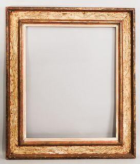 Max Kuehne Gilt and Polychromed Frame