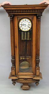 19th Century J. Weber, Vienna Regulator Clock