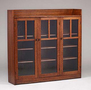 Limbert Three-Door Bookcase c1902-1905