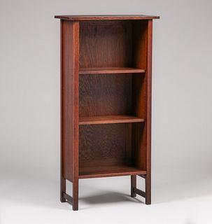 Gustav Stickley - Harvey Ellis Designed Open Bookcase c1903