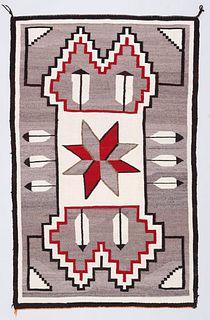 Navajo Feather Rug c1930s