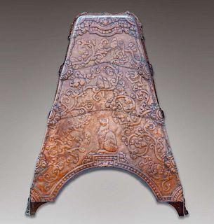 Peer Smed Hammered Copper Fireplace Hood 1919