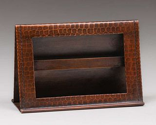 Roycroft Hammered Copper Picture Frame c1920s