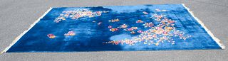 Antique Chinese Deco Room Size Rug