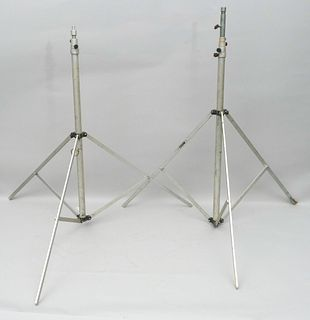 Pair of Vintage Professional Camera Tripods
