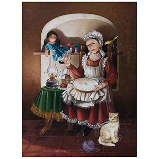 "ALEJANDRO CAMARENA, Sin título, Firmado, Óleo sobre tela, 80.5 x 60 cm | ALEJANDRO CAMARENA, Untitled, Signed, Oil on canvas, 31.6 x 23.6"" (80.5 x 60"